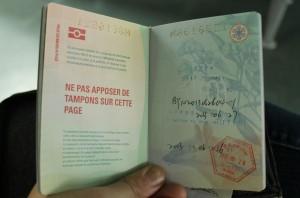 Australian Passport with China Stay Permit