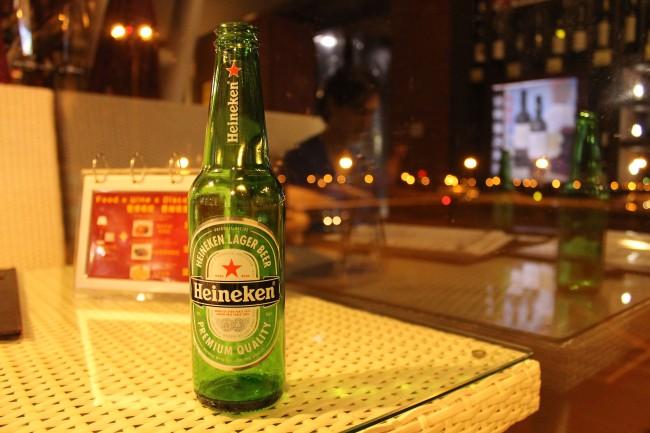 Heineken, Guangzhou Airport