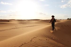 Berber Tour Guide in Moroccan Sahara